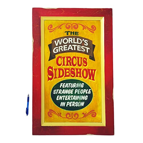 7a975d2e486 Amazon.com  Circus Sideshow Old Time Hand Painted Sign  Handmade