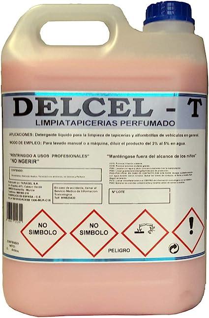 T LIMPIATAPICERIAS Muy-PERFUMADO (5kgrs): Amazon.es: Coche y moto