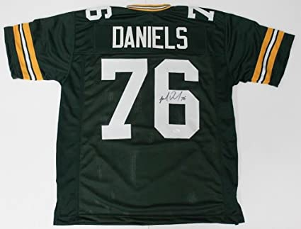 Image Unavailable. Image not available for. Color  Mike Daniels Autographed  Signed Packers Jersey - JSA Certified bcbf7e68c
