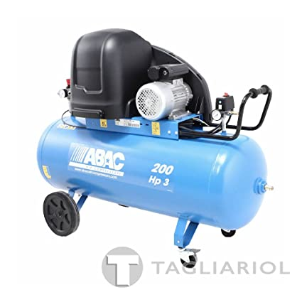 Abac S a39b 200 cm3 Compresor silenziato – 200L Aire Comprimido Motor 3HP
