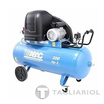Abac S a39b 200 cm3 Compresor silenziato – 200L Aire Comprimido ...