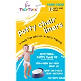 TidyTots Disposable Potty Chair Liners - Value Pack - Universal Potty Chair Fit (fits most potty chairs) - 32 Liners…