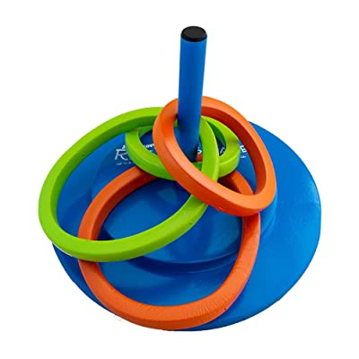 Texas Recreation Floating Foam Ring Toss Game for Swimming Pools: Toys & Games