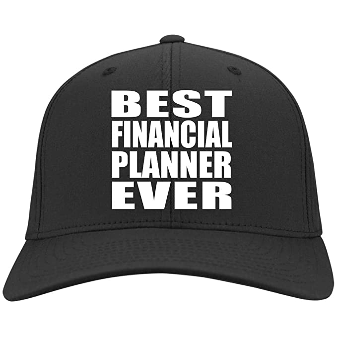 3f144d63842 Amazon.com  Best Financial Planner Ever - Twill Cap Black One Size ...