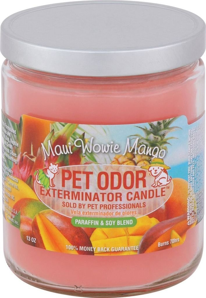 Pet Odor Exterminator Candle, Maui Wowie Mango,13 oz