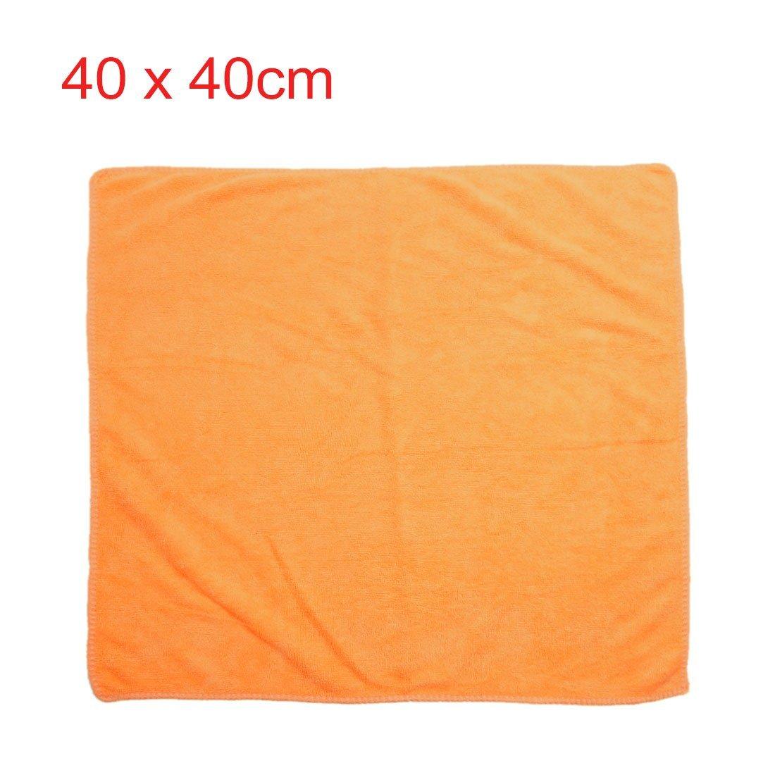 Amazon.com: eDealMax 3pcs 300g 40 x 40 cm Azul Amarillo del Color del café de absorción de agua de microfibra toalla de limpieza Para coches Inicio: ...
