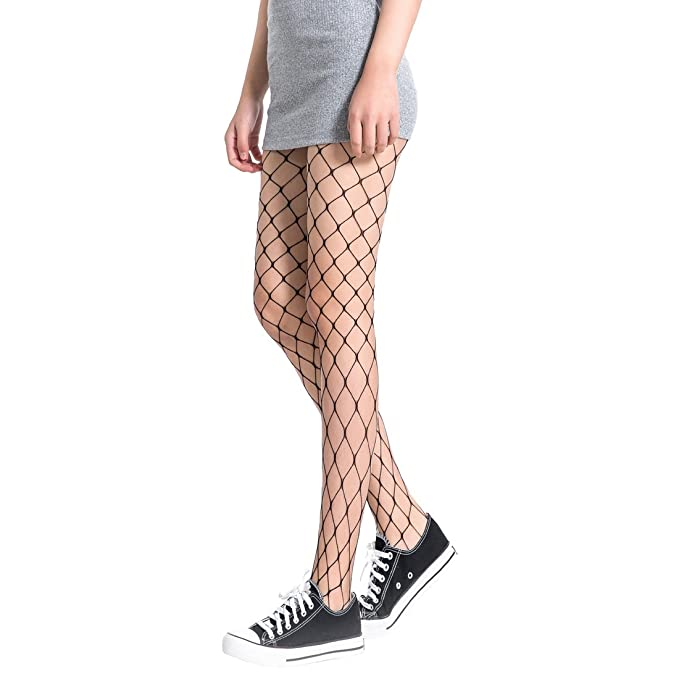 0cd7714ae20d7 FAYBOX 3 Pack Fishnet Stockings Hollow Stretchy Tights Seamless Sexy Net  Pantyhose Women (Net Design) at Amazon Women's Clothing store: