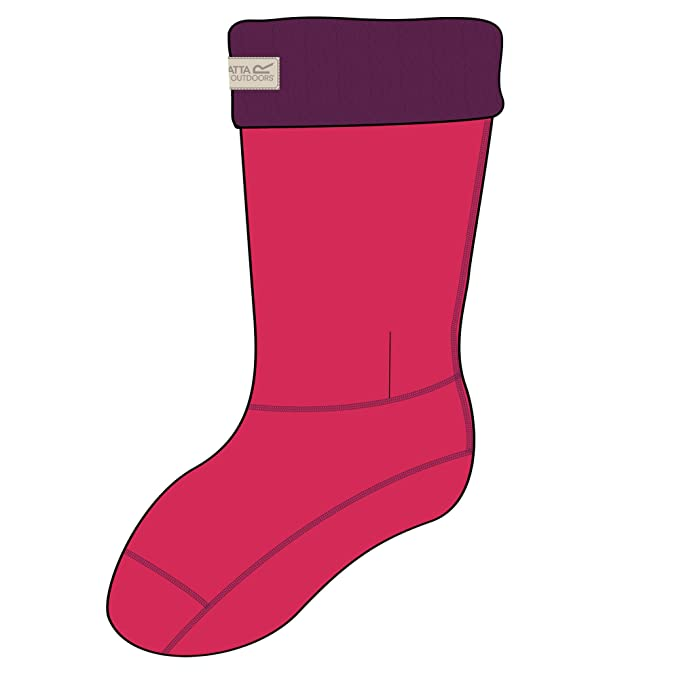 Regatta Great Outdoors - Calcetines de polar para las botas de agua para mujer: Amazon.es: Ropa y accesorios