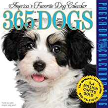 365 Dogs Color Page-A-Day Calendar 2016