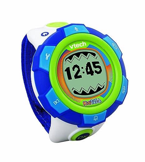 VTech Cooltronic - Reloj para niños, Kidi Tic Tac, color azul (80-
