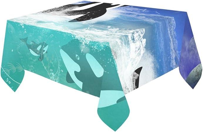 Happy más Custom bajo el agua las Orcas pantalla para mesa ...