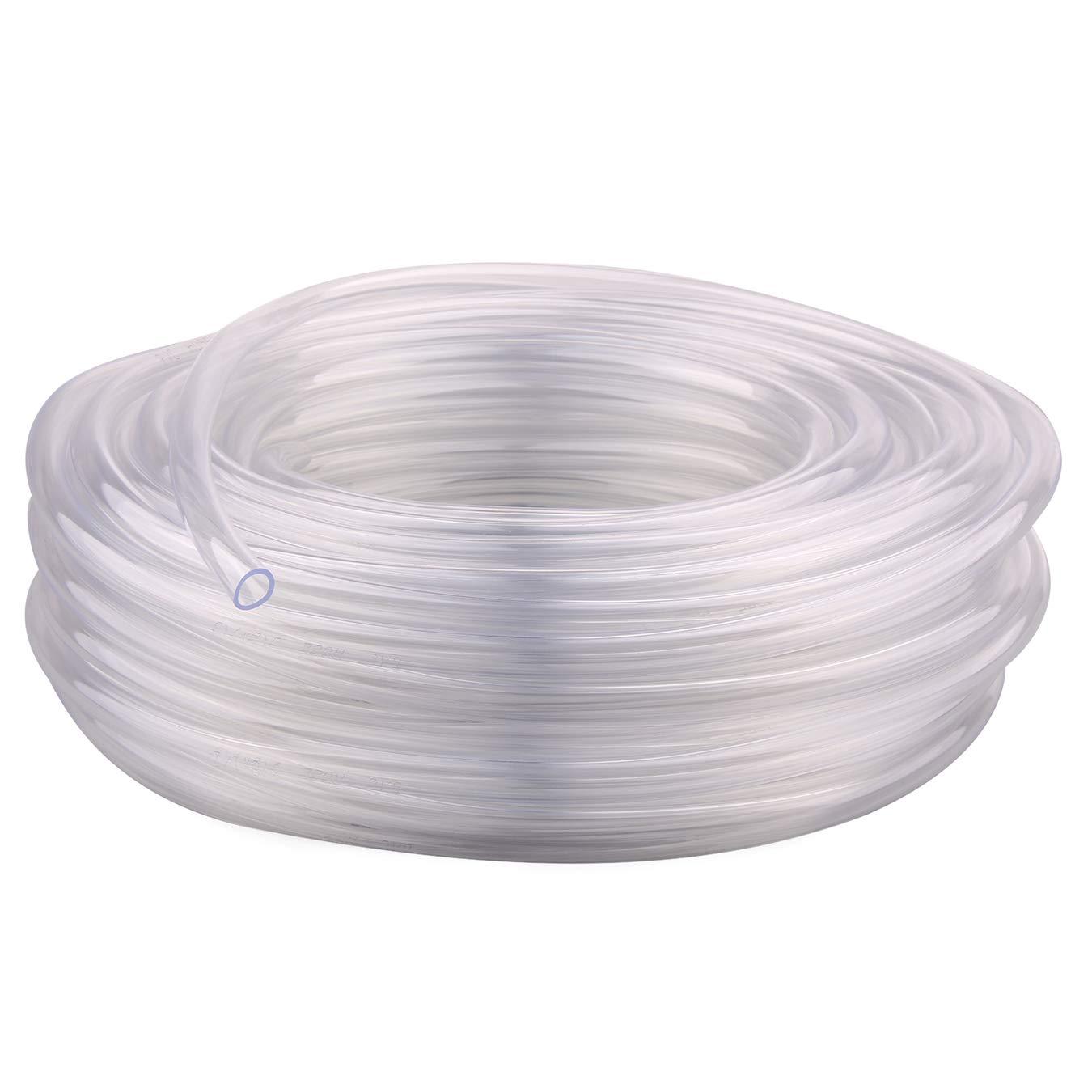 Tuyau en PVC et silicone