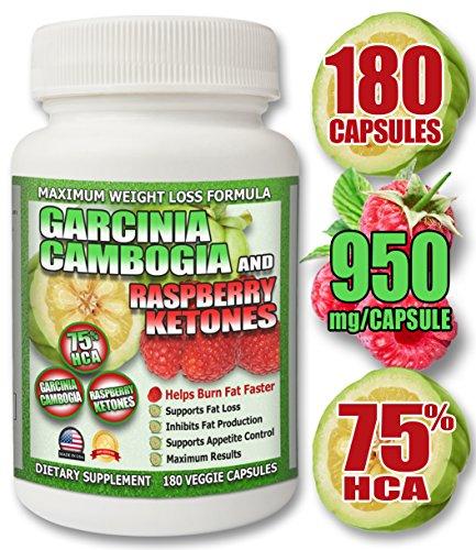 75 HCA Garcinia Raspberry WEIGHT LOSS product image
