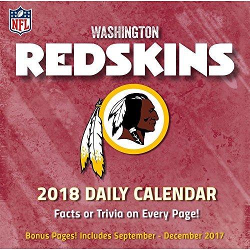 Washington Redskins 2018 Desk Calendar