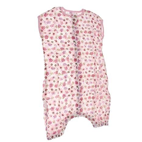 MagiDeal Saco De Dormir Pijama De Algodón del Bolso Manta Portátil para Recién Nacido Bebé -