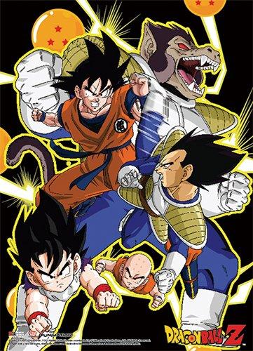 Amazon.com: Muro Scroll – Dragon Ball Z – Saiyan Saga nuevo ...