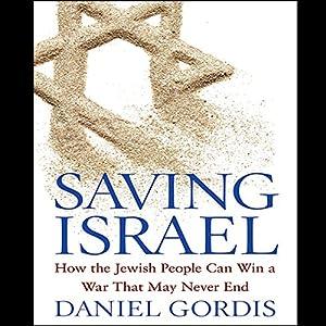 Saving Israel Hörbuch