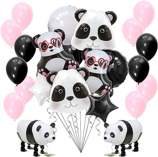 Amazon.com: Globos de Panda para decoración de fiestas ...