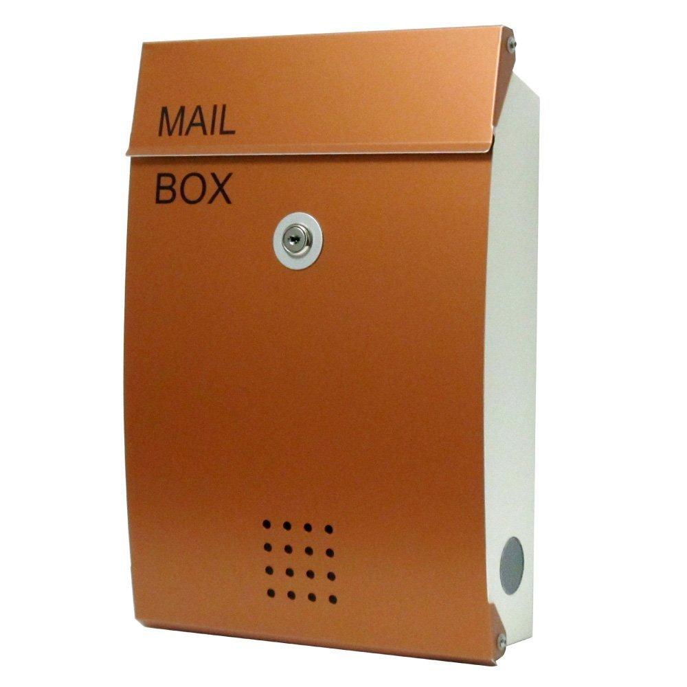EUROデザイナーズポスト ユーロデザイナーズポスト MB5005 カッパー 郵便受け MB5005-KM-COPPER 026 奥行26×高さ38×幅8.5cm B07DL4B2LN カッパー カッパー
