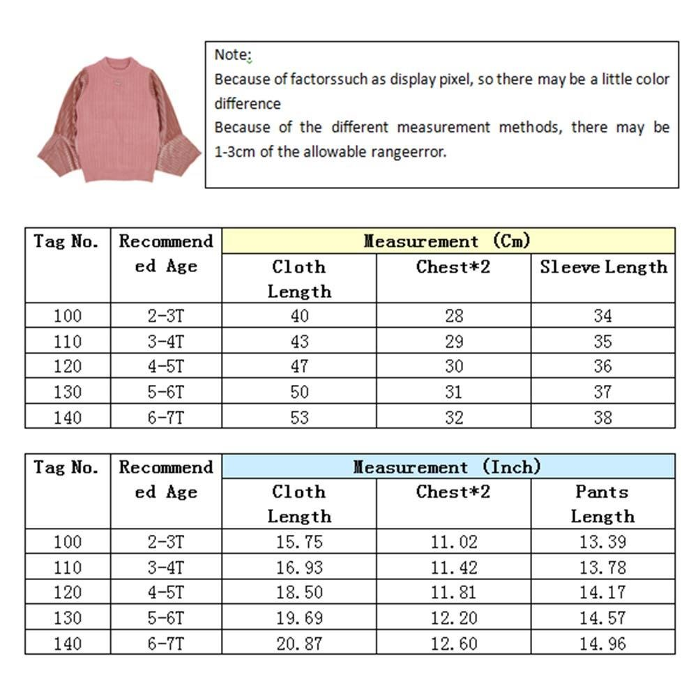 Kids Sweater,amazingdeal Girls Irregular Stitching Sleeves Personality Autumn Knitted Sweater
