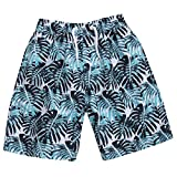 Cargo Bay Boys Printed Bermuda Swim Shorts Turquoise 4-5 Years