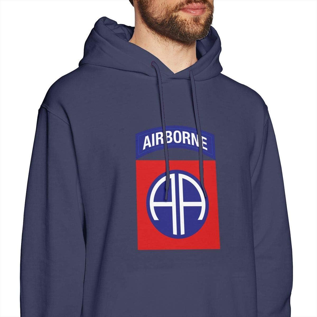 JMPI 82nd Airborne Div V1 Mens Hooded Sweatshirt Theme Printed Fashion Hoodie