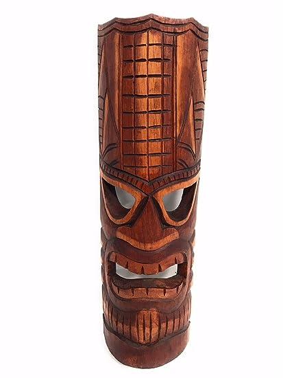 amazon com tiki mask lono 20 love tiki mask hawaiian gift