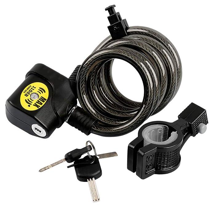 YKYM - Cable de Seguridad para Bicicleta (antirrobo ...
