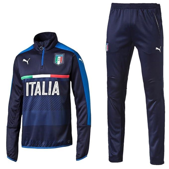 Puma Italia EM 2016 Chándal, Hombre, XXXL: Amazon.es: Deportes y ...