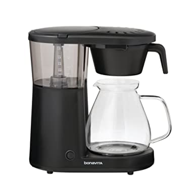 Bonavita BV1901PW Metropolitan One-Touch Coffee Brewer, Length: 12.60  Width: 6.80  Height: 12.20 , Black