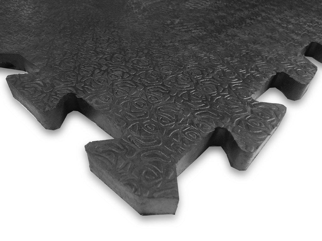 Gummi-Stallmatte 20mm Puzzlesystem 80 x 120 cm