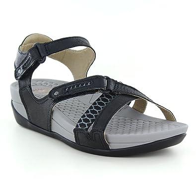 1625ef1b53e9 Earth Spirit Pittsburgh - Black (Leather) Womens Sandals 4 UK