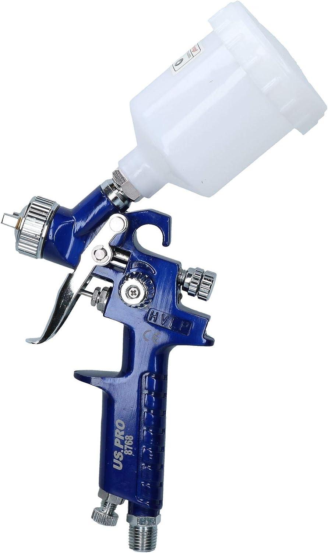 AB Tools-US Pro Mini Spray Gun//Alimentation par gravit/é HVLP Pistolet Buse 0.8mm Touch Up