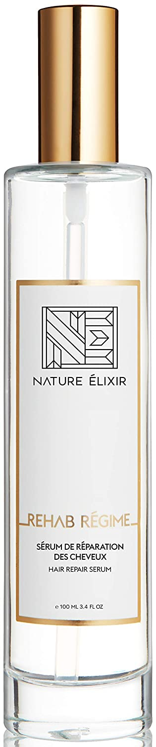 Nature Elixir REHAB REGIMÉ - Hair Serum for Frizzy and Damaged Hair - Smoothing and Repairing Dry Hair I 3.4oz 100ml