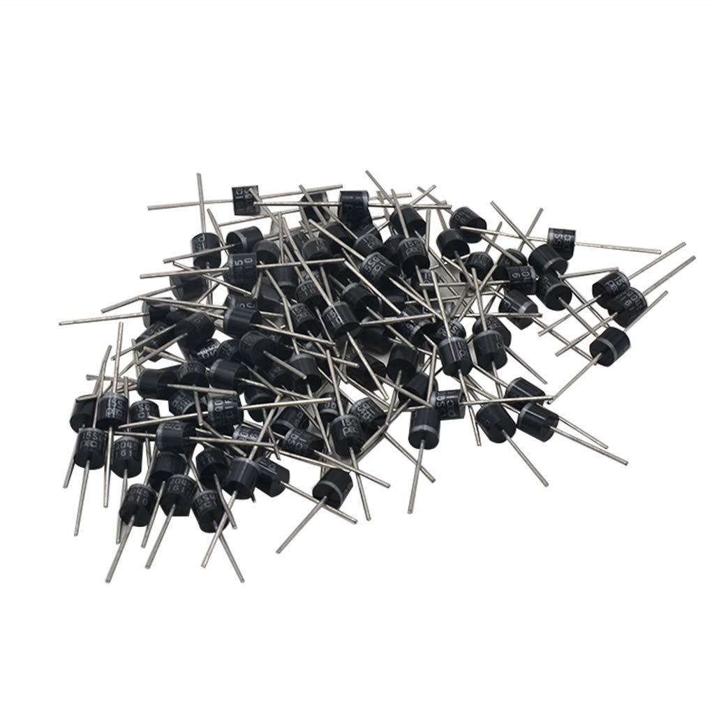 Set 15A 45V Schottky-Dioden Solar Panel DIY Low Power Loss Kits High Efficiency Diodes Shangjunol 100PCS