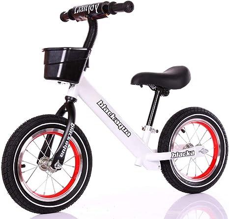 XUE Bicicleta de Equilibrio, de 14 Pulgadas de Peso Ligero clásico ...