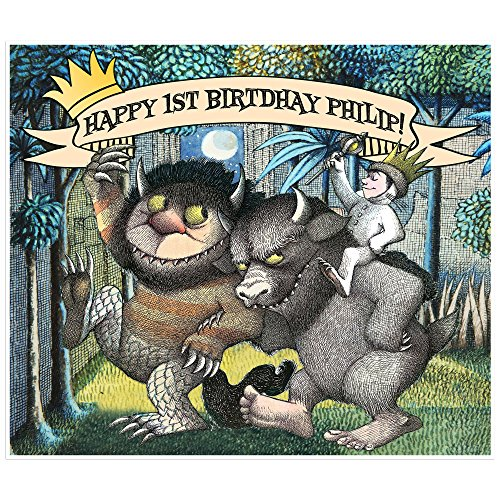 Where the Wild Things Are Birthday Banner Custom Party Decoration Dessert Table Photo Backdrop
