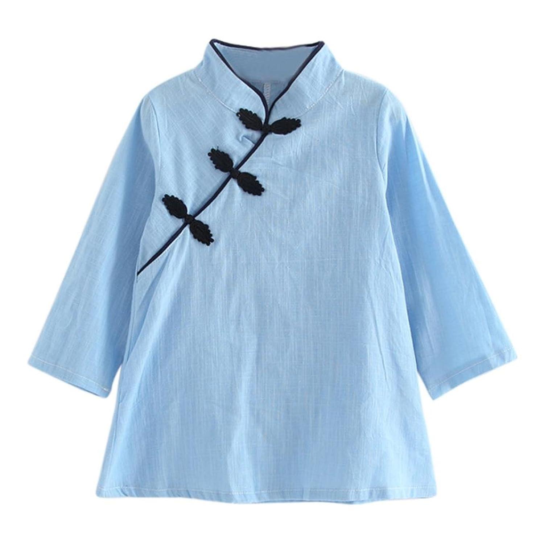 Amlaiworld Baby shirt Mädchen kleid chinesischer Stil locker kleider ...