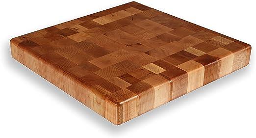 """12/"""" x 15/"""" x 1.5/"""" Walnut Wood Butcher Block Cutting Board"""