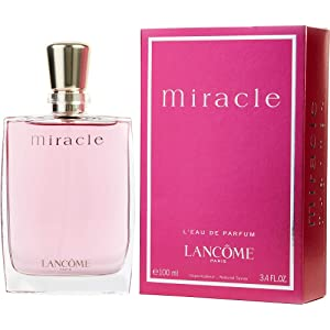 Miracle By Lancome For Women Eau De Parfum Spray 3.4 Oz