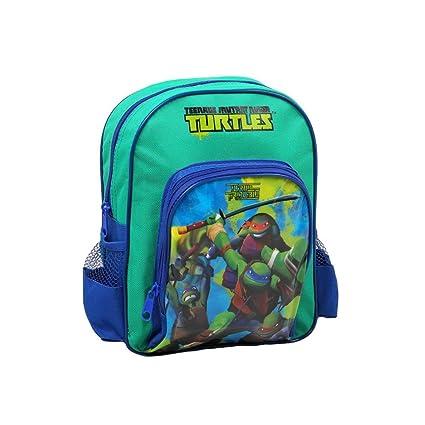Niños Mochila Tortugas Ninja TMNT - 30 x 22 cm - Escuela y ...