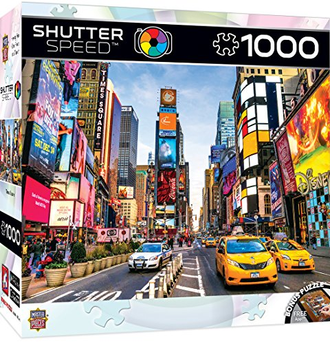 MasterPieces Shutter Speed Times Square Puzzle (1000 Piece)
