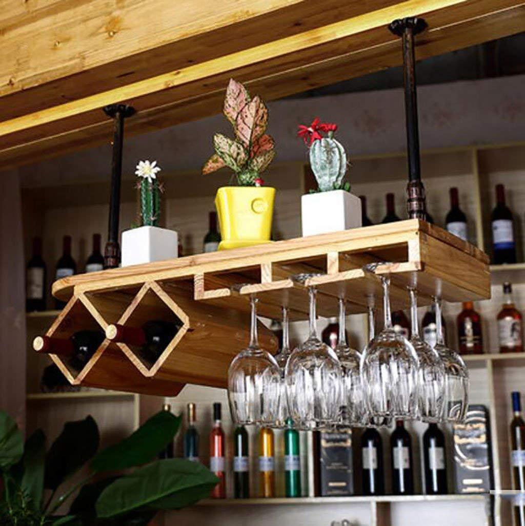 1 L80W28cm Wine Racks Wine Glass Rack, Shelf Wine Glass Holder,Wine Glass Rack, Wine Glass Rack, Champagne Glass Rack,Glassware Rack Stemware Racks (color   1, Size   L80W28cm)