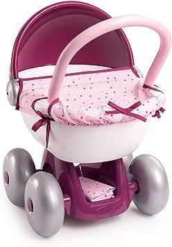 Smoby - 220348 - Baby Nurse - Landau Câlin - Roues Silencieuses