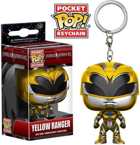 Amazon.com: Funko POP Llavero: power rangers amarillo Ranger ...