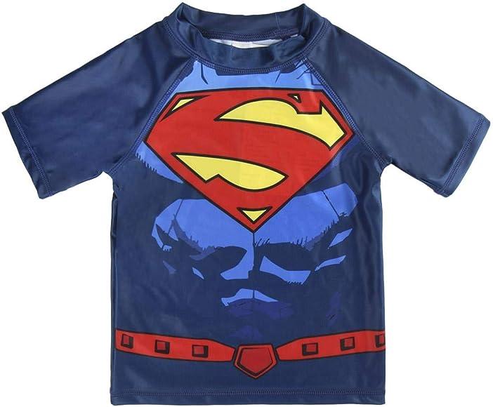Superman S0712819 Camiseta, Azul, 6 años Unisex niños: Amazon.es: Ropa y accesorios