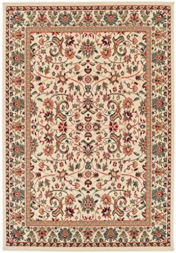 Amazon.com: Traditional Area Rugs Cream Rugs for Living Room 5x7