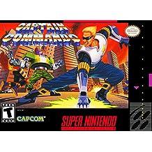 Captain Commando - (Super Nintendo, SNES) Reproduction Game Cartidge with Replica Miniature Box