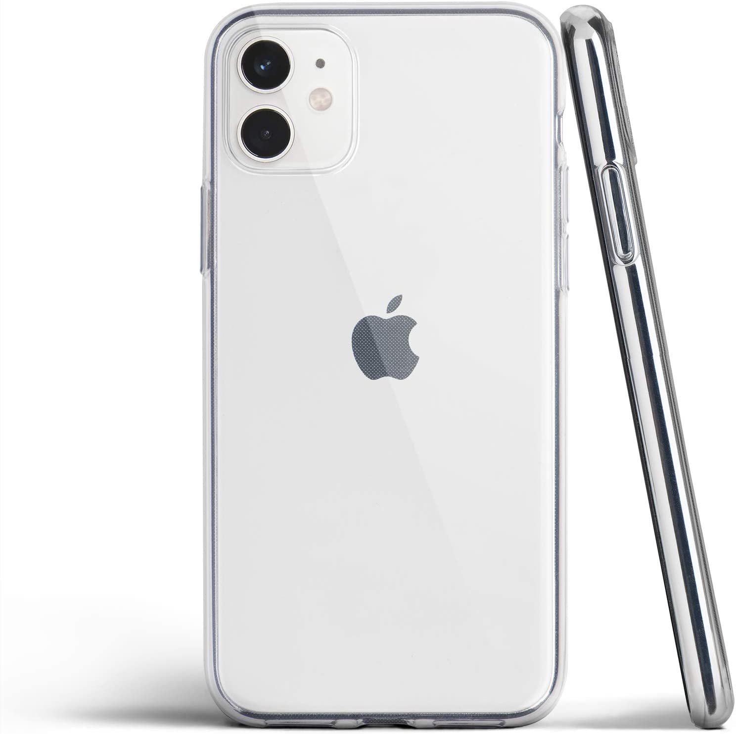 Amazon Com Totallee Clear Iphone 11 Case Thin Cover Ultra Slim Minimal For Apple Iphone 11 2019 Transparent Electronics