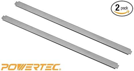 HSS POWERTEC 128281 13-Inch Planer Knives for Rigid R4331 Set of 3